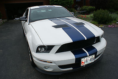 Ford : Mustang Shelby GT500 Coupe 2-Door 2008 ford mustang shelby gt 500 coupe 2 door pristine condition only 473 miles