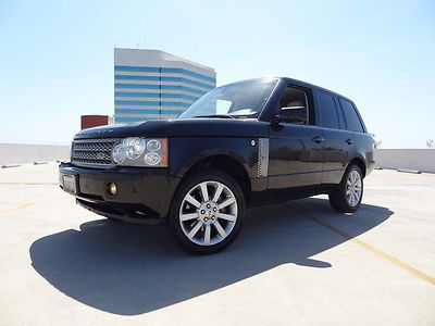 Land Rover : Range Rover Range Rover Supercharged SUV 2008 land rover range rover sc super charged v 8 awd suv fully loaded warranty