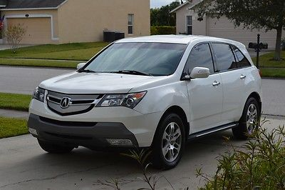 Acura : MDX Technology package Navigation 2007 acura mdx tech pkg navigation pearl white