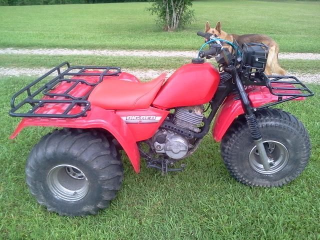 1985 Honda 250es Big Red