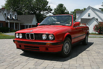BMW : 3-Series Base Convertible 2-Door 1991 bmw 318 i base convertible 2 door 1.8 l 5 speed 63 k pampered miles one owner