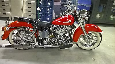 Harley-Davidson : Other Harley Davidson 1976 FLH