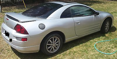 Mitsubishi : Eclipse GS Coupe 2-Door GS, Manual, 2002, 120k miles, silver, Coupe