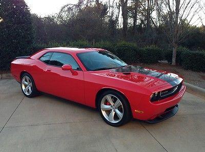 Dodge : Challenger SRT8 Coupe 2-Door 2010 challenger srt 8 14 k miles red for sale