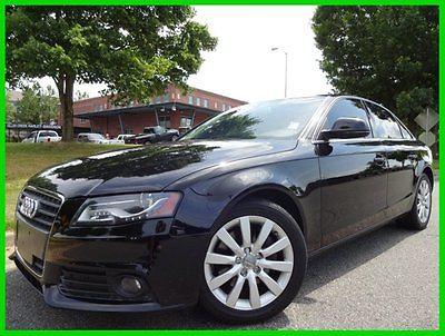 Audi : A4 2.0T Premium 2 OWNER WE FINANCE! 2.0 t automatic leather heated seats sunroof bluetooth