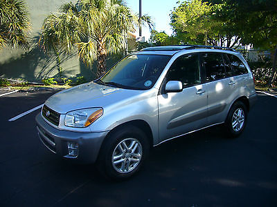 Toyota : RAV4 L Edition - 4-Door Sport Utility  Free Warranty - Only 54k Miles! One Owner - 100% Florida Car - Perfect Autocheck