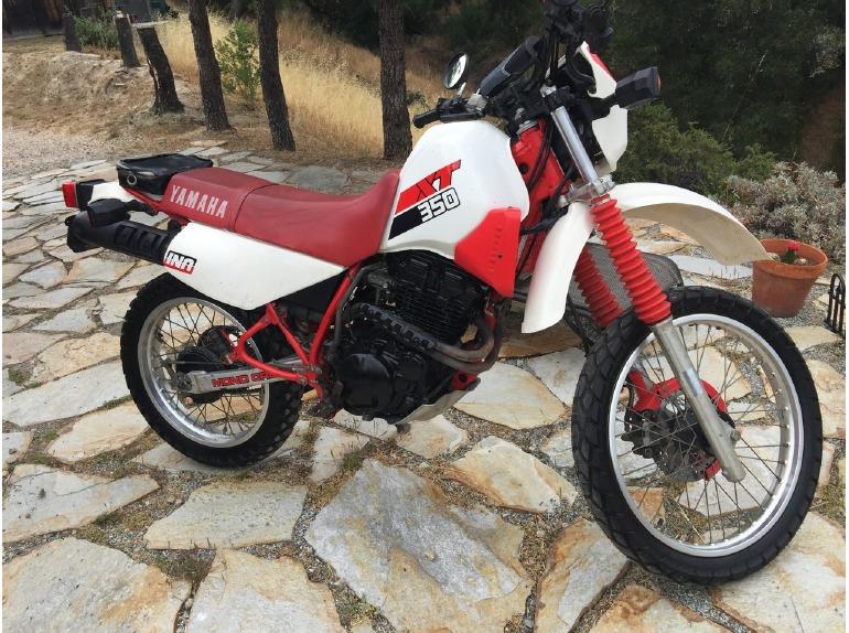 1986 Yamaha Xt350