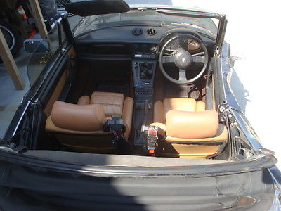Alfa Romeo : Spider 1988 alfa romeo spyder veloce right hand drive runs and drives salvage title
