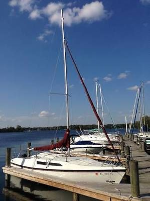91 MacGregor 26S 26' Sailboat With Trailer/ Sails/ Rigging, swing keel sail boat
