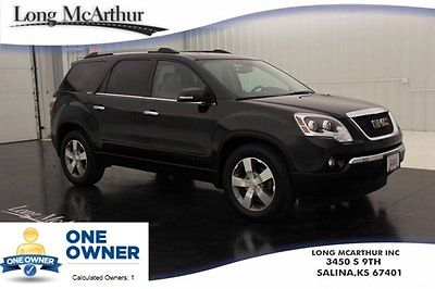 GMC : Acadia Certified All- Wheel Drive Leather V6 1 Owner SLT1 Certified 3.6 V6 AWD Heated Leather Cruise Keyless Entry Onstar Satellite Radio