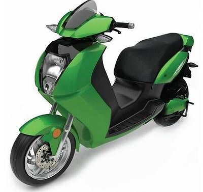 Other Makes : Vectrix VX-2 New 2013 Vectrix VX-2 Electric Motorcycle / Scooter Green