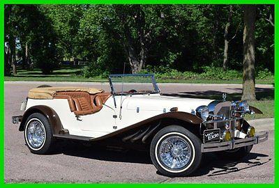 Mercedes-Benz : Other 1929 Mercedes-Benz Gazelle Replica only 800 miles 1929 mercedes benz gazelle replica only 800 miles