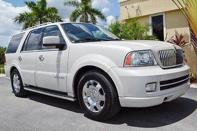 Lincoln : Navigator Luxury 4x4 2006 lincoln navigator 4 x 4 awd heated cooled leather navigation sunroof dvd