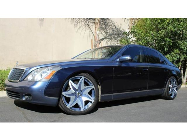 Maybach 4dr Sdn SWB GORGEOUS MAYBACH V12, REAR ENTERTAINMENT PKG, CALL NOW!!!