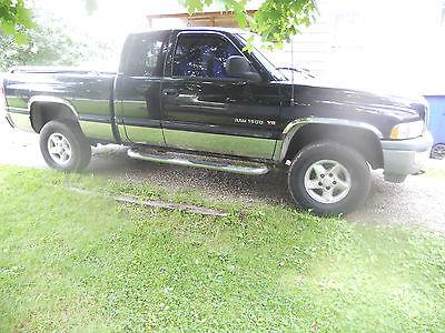 Dodge : Ram 1500 Laramie Extended Cab Pickup 4-Door 1999 dodge ram laramie slt 1500 4 x 4 extended cab
