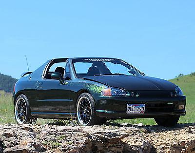 Honda : Del Sol si 1994 honda del sol si b 18 a gsr trans custom paint lots of work done nice