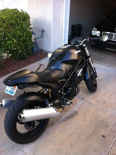 Ducati : Monster Monster 695 Matte Black only 5800 miles