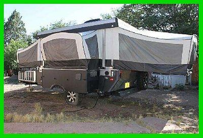 2013 Somerset Evolution E3 Pop-Up Trailer Slide Out Sleeps 8 A/C Onan Generator
