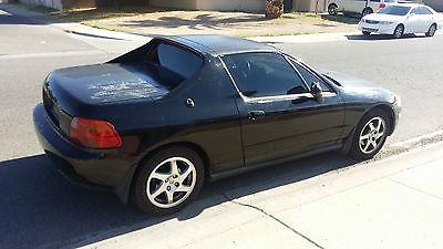 Honda : Del Sol SI VTEC 1997 honda civic del sol si vtec b 16 dohc stock original oem engine black