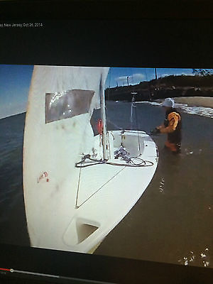 Laser 2 Sailboat with Spinnaker