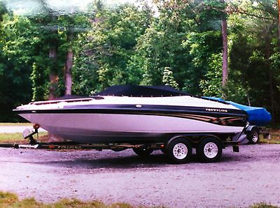 2000 Crownline 202 BR Open Bow 250 Hours with Trailer