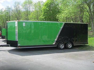 2015 Freedom 8.5 x 24 TA Enclosed Race Trailer