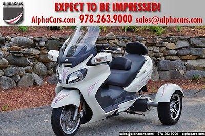 Suzuki : Other Executive Yelvington Trike Custom Executive Trim ABS Power Windshield Custom Pinstripes Financing & Trades