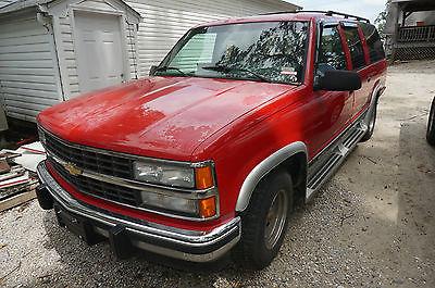 Chevrolet : Suburban American Luxury Coach 1993 chevrolet suburban 1500 american luxury coach