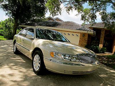 Lincoln : Continental Base Sedan 4-Door 2002 lincoln continental base sedan 4 door 4.6 l