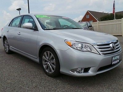 Toyota : Avalon Limited leather power heated cooled camera bluetooth usb aux cd xm JBL alloy low mile