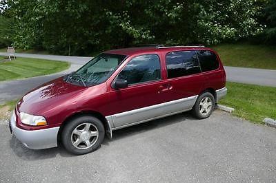 Nissan : Quest SE-7 PASSENGER 2001 nissan quest se minivan runs drives good tires no wrecks