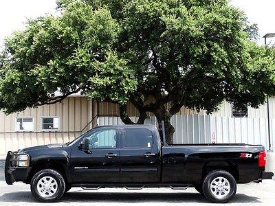 Chevrolet : Silverado 3500 LT Z71 Duramax Diesel 4X4 2013 chevy 3500 long bed headache rack ranch hand xm spray liner trailer hitch