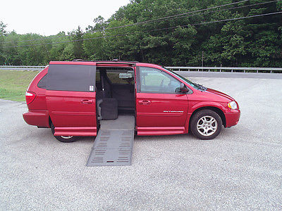 Dodge : Grand Caravan SXT Mini Passenger Van 4-Door 2004 dodge braun entervan handicap wheelchair van 84 252 orig mi gorgeous