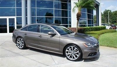 Audi : A6 3.0T Prestige 2012 audi a 6 prestige one owner clean carfax navigation