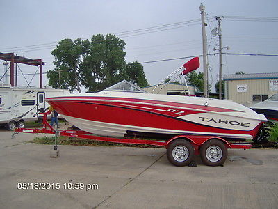 2013 Tracker Tahoe Q7 Bowrider w/260 HP V8 (21 ft)