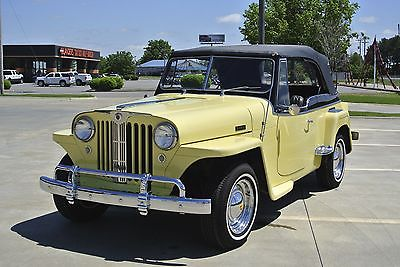 Willys 2D Convertible 1949 willys jeepster