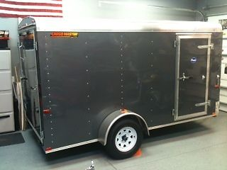 2010 Doolittle 12' enclosed Motorcycle trailer with ramp and side door