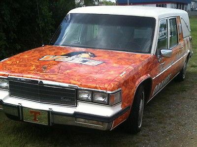 Cadillac : Fleetwood CADILLAC FLEETWOOD BROUGHAM HEARSE HEARSE - RIDE VOL STYLE