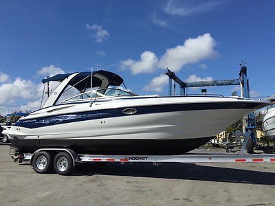 2006 Crownline 320 LS Bowrider, Twin 5.7L Merc, 185 Hours, Cabin w/ AC, 2 videos