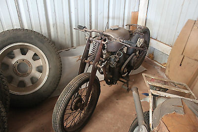 Other Makes : RARE 1948 Puch Motorcycle with MUSTANG engine. 1948 steyr daimler puch motorcycle with mustang engine