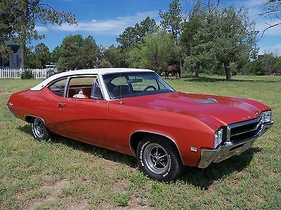 Buick : Skylark GS Colorado 1969 buick skylark gs colorado ram air 350 s matching 80 227 act miles