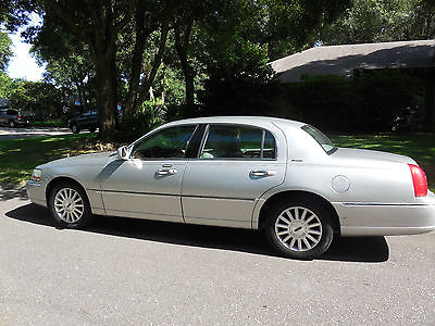 2003 lincoln town car executive cars for sale. Black Bedroom Furniture Sets. Home Design Ideas