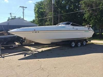 1996 Envision Combo Mid Cabin Cuddie Cabin With Trailer New Engine Easy Project
