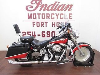 Harley-Davidson : Softail 1991 harley fatboy flstf custom paint hard bags extras we finance ship