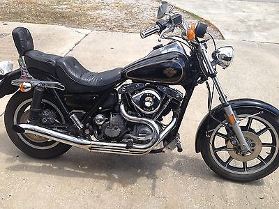 Harley-Davidson : Other 83 fxrt runs good ready to ride five speed evo s s carb fxr harley shovelhead