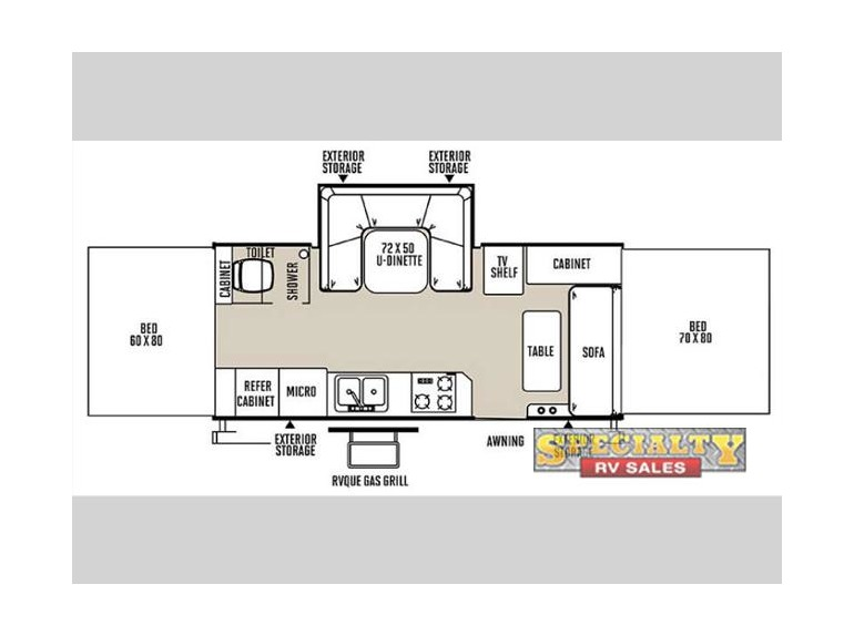 2015 Forest River Rv Rockwood High Wall Series HW296