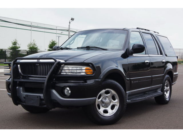 Lincoln : Navigator 4dr 4WD 4 x 4 leather 3 rd row seat runs drives great