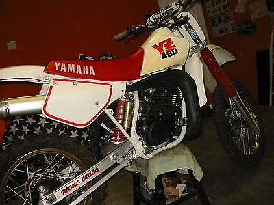 Yamaha : YZ 1987 yz 490 vmx maico husqvarna yamaha yz yz 490 vintage motocross