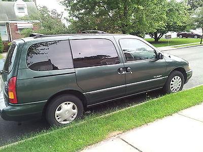 Nissan : Quest gxe NISSAN QUEST GXE Minivan 1999 ( 88600 miles)