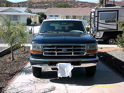 Ford : F-350 XLT Extended Cab Pickup 2-Door 1993 ford f 350 dually 7.3 idi diesel 5 spd